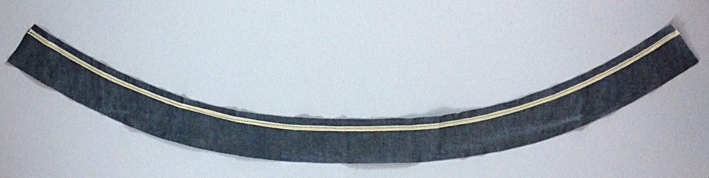 Liana Stretch Jeans Sewalong Day 9 Twill tape to waistband