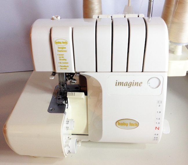 Liana Jeans Sewalong Day 1 - Serger