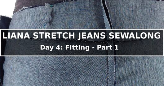 Liana Stretch Jeans Sewalong Day 4
