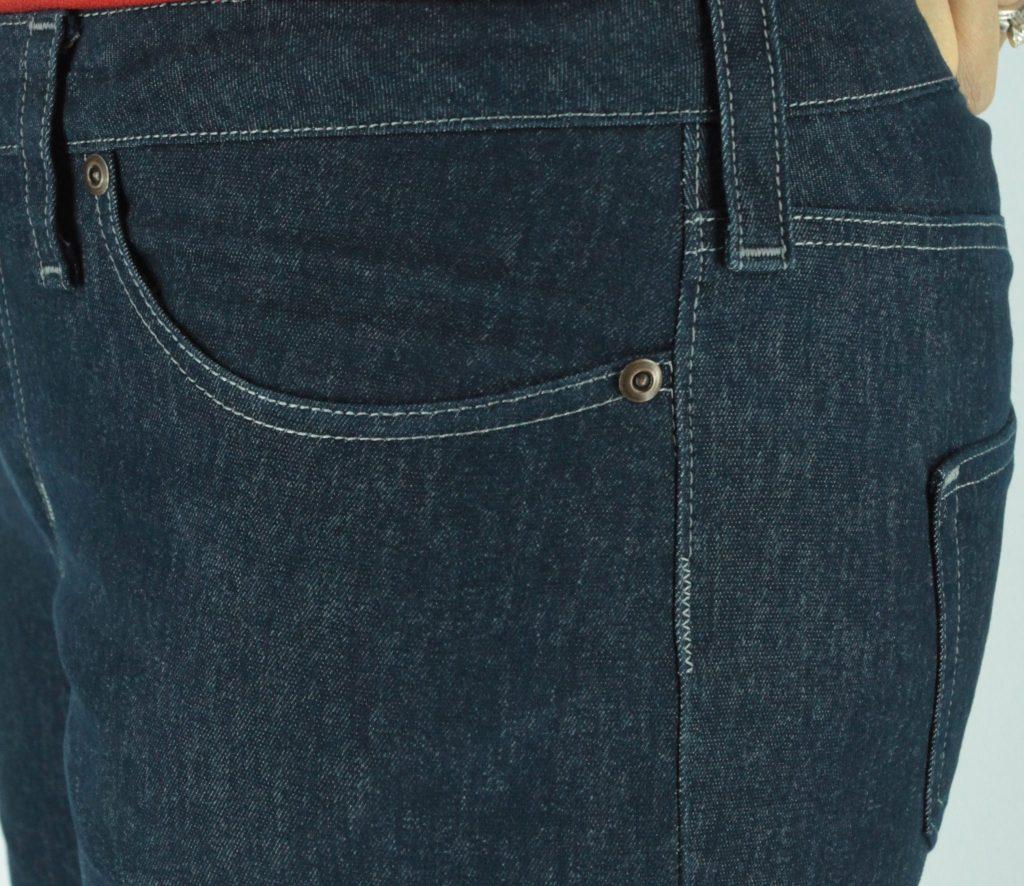 Liana Stretch Jeans Sewalong Day 9 Zigzag below topstitch