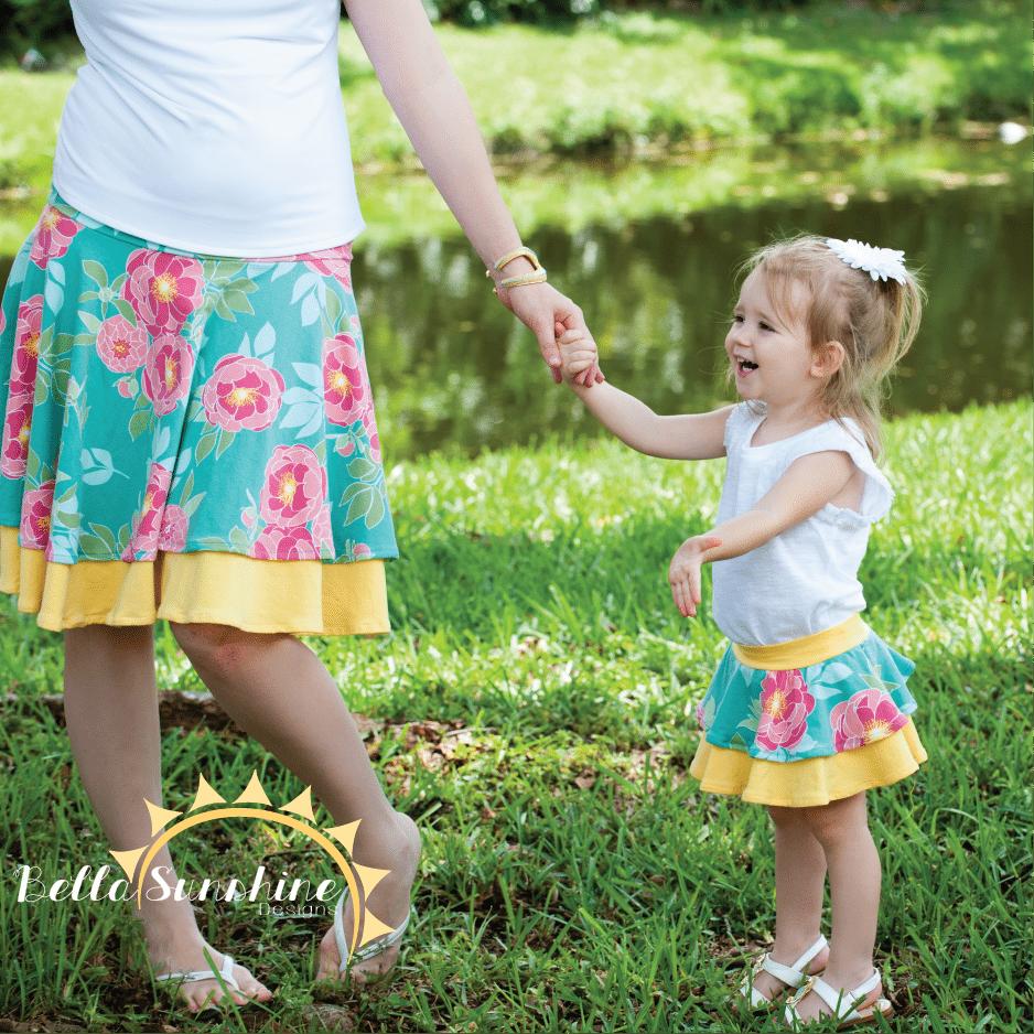 Bella Sunshine Designs' original Kelly's Twirly Skirt