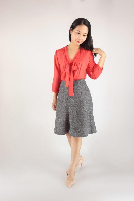 Itch to Stitch Zamora Blouse and Seville Skirt