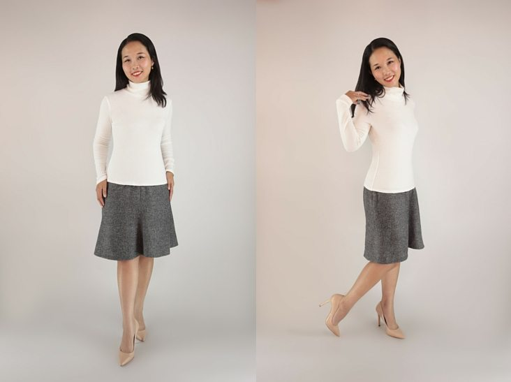 Itch to Stitch Hepburn Turtleneck PDF Sewing Pattern