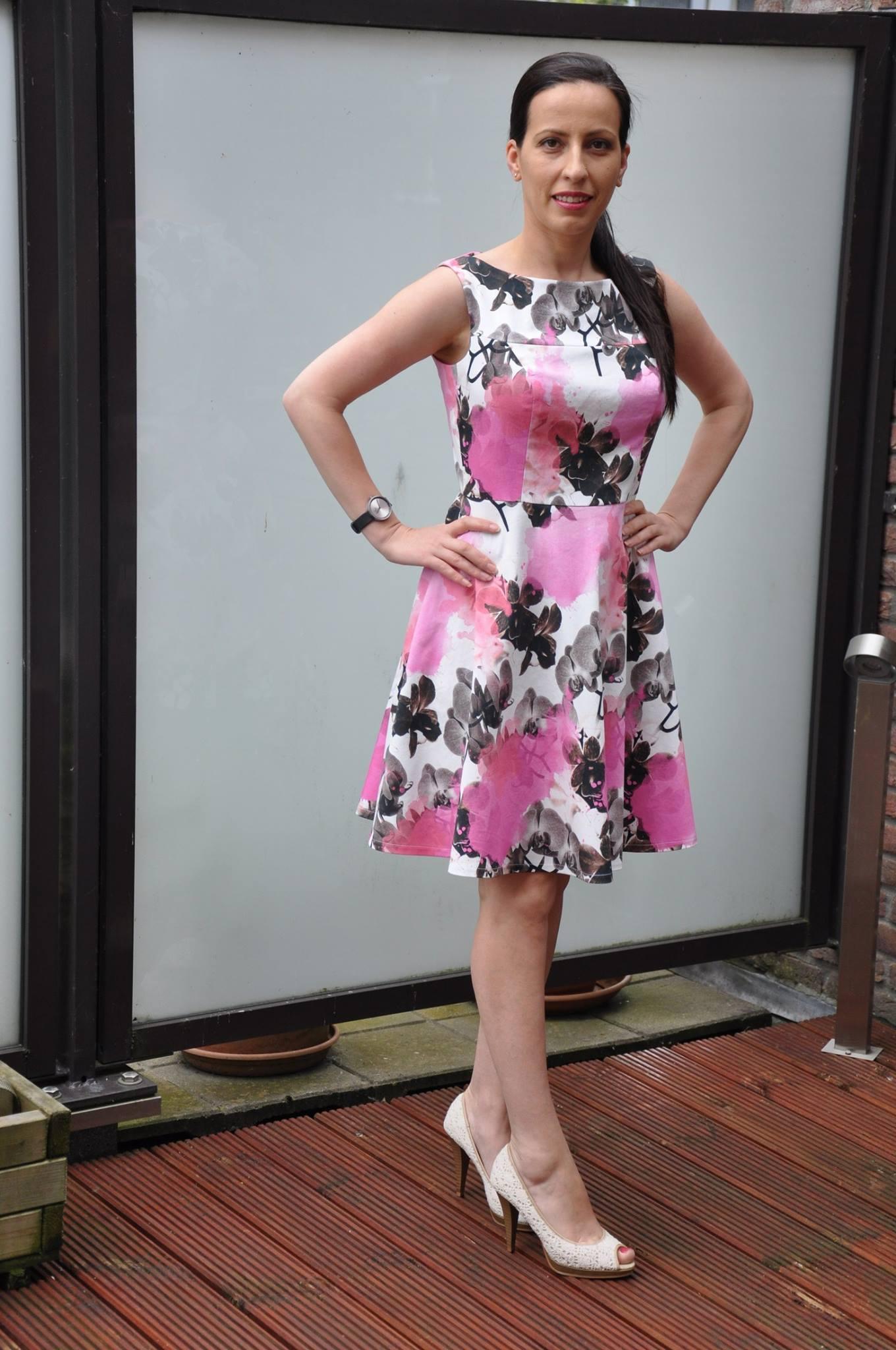 Marbella Dress Half-circle Skirt Add-on Tester Photo