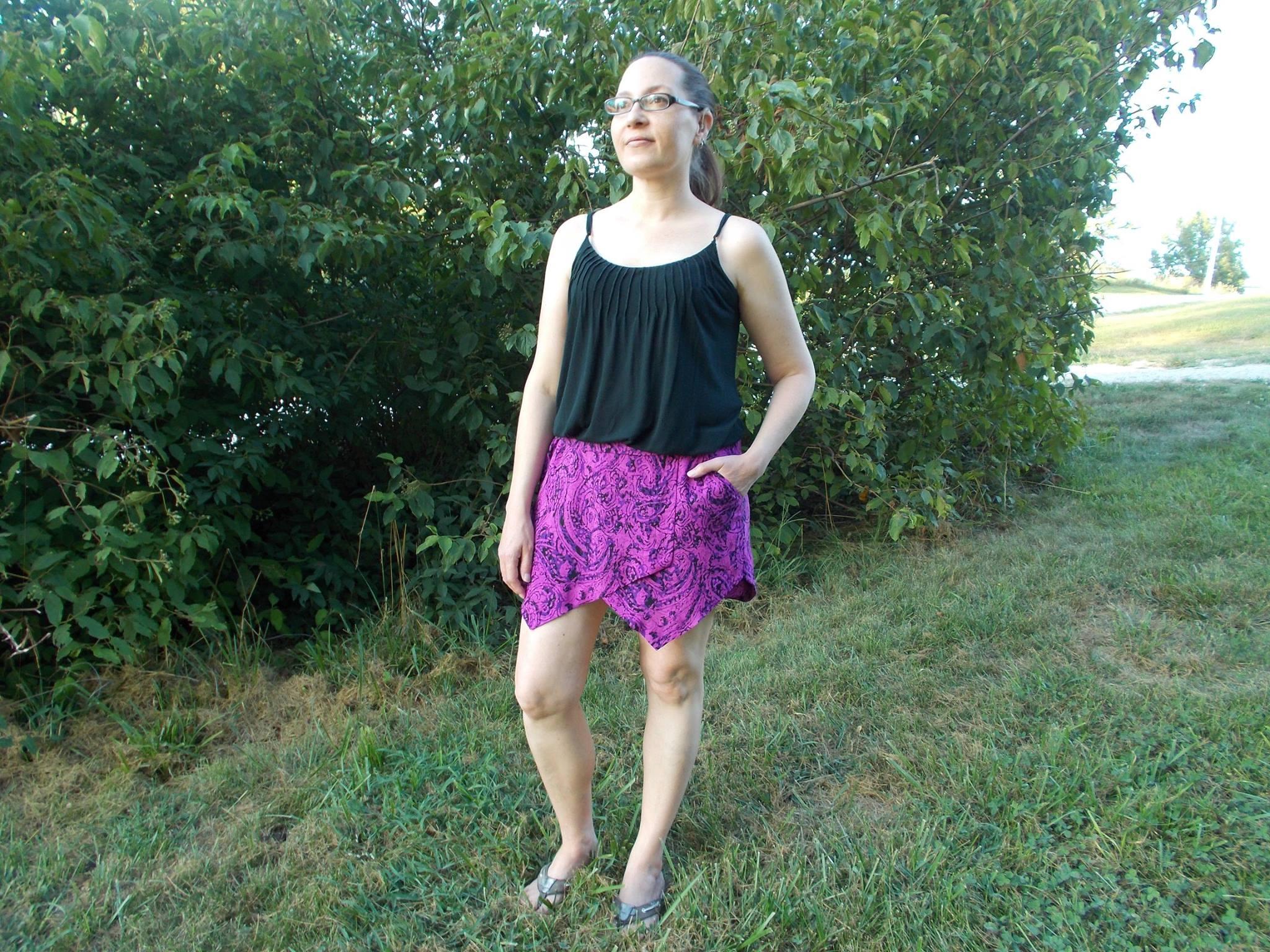 Itch to Stitch Belize Shorts & Skort PDF Sewing Pattern