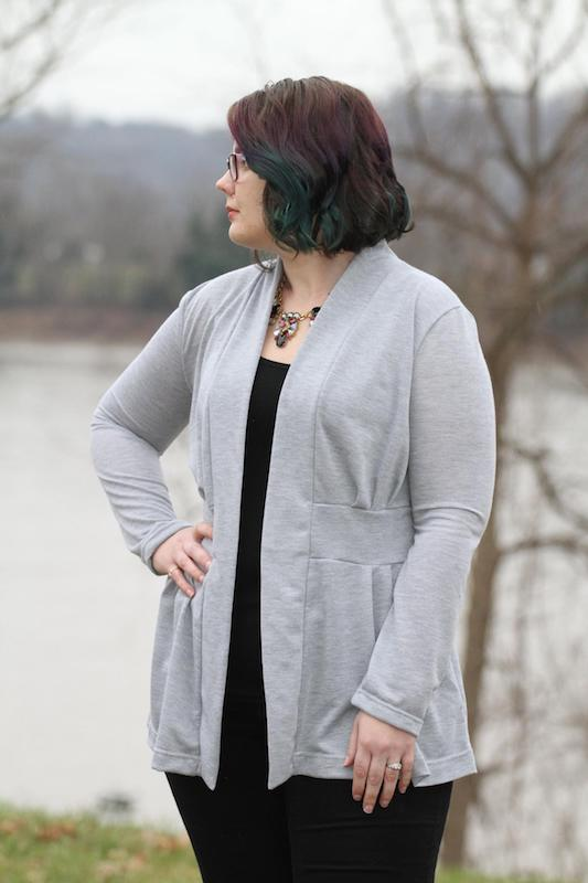 Itch to Stitch Paro Cardigan PDF Sewing Pattern