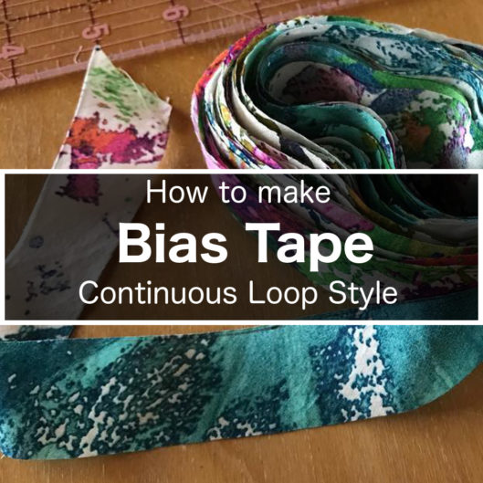 Bias Tape Continuous Loop