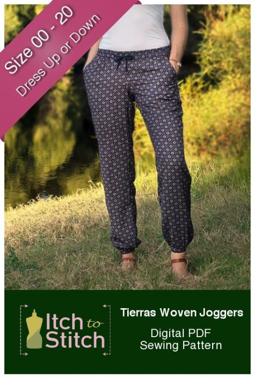 Tierras Woven Joggers Product Hero