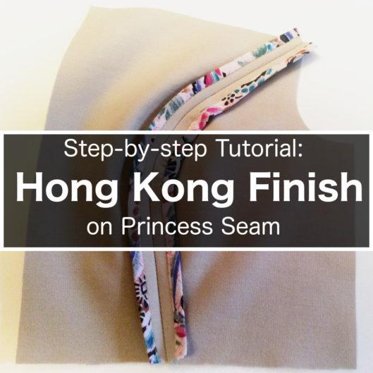 Hong Kong Seam Finish Part 2