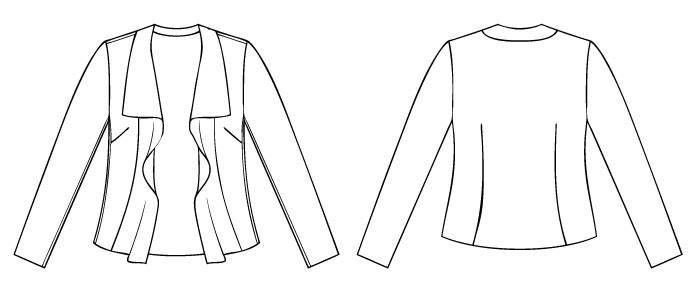 Itch to Stitch Hvar Jacket