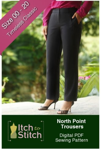 Itch to Stitch North Point Trousers PDF Sewing Pattern