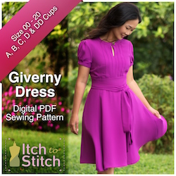 Giverny Dress PDF Sewing Pattern