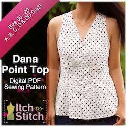 Dana Point Top PDF Sewing Pattern