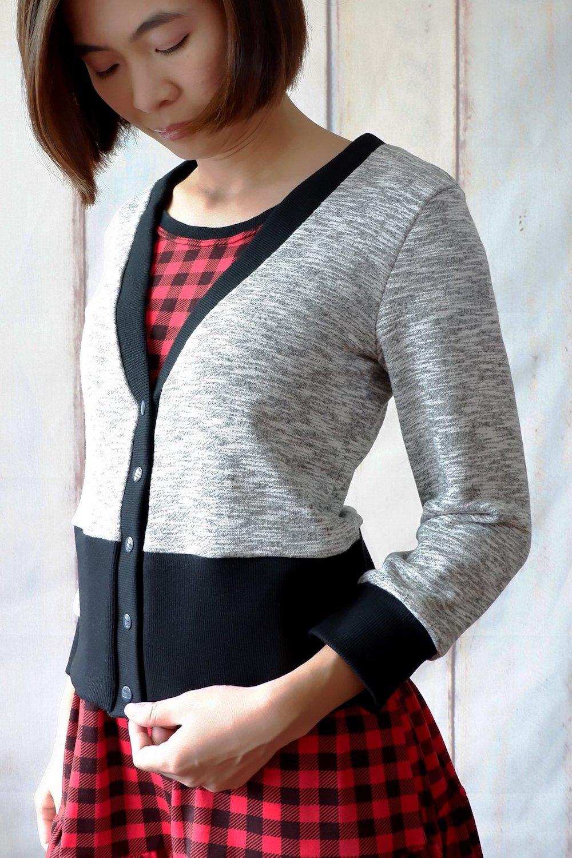 Itch to Stitch Aveiro Cardigan PDF Sewing Pattern