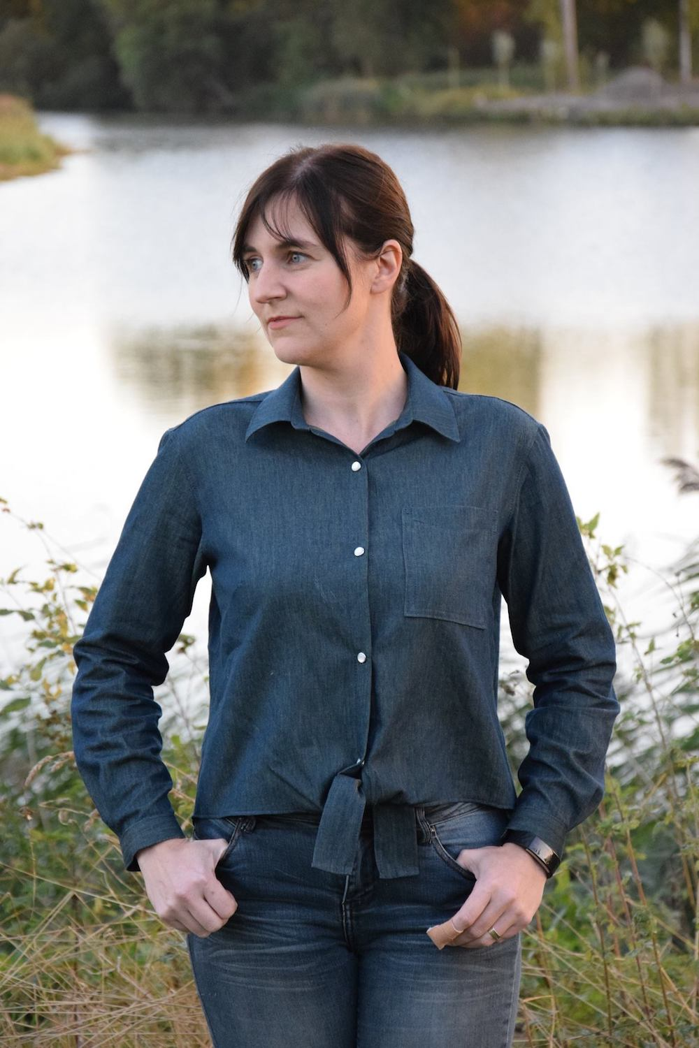 Itch to Stitch Montana Shirt PDF Sewing Pattern