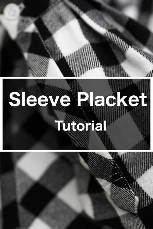 Sleeve Placket Tutorial