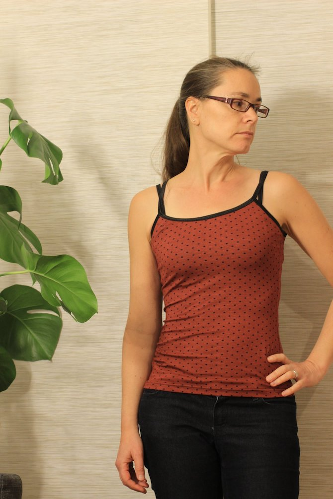 Itch to Stitch Cartagena Cami PDF Sewing Pattern