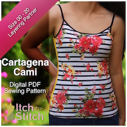 Cartagena Cami PDF Sewing Pattern