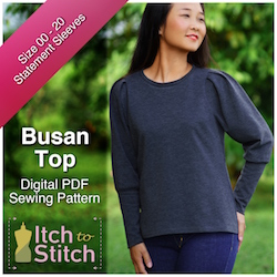 Busan Top PDF Sewing Pattern
