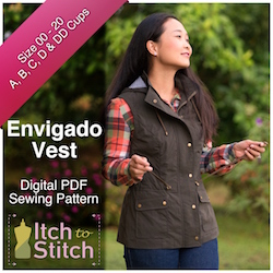 Envigado Vest PDF Sewing Pattern