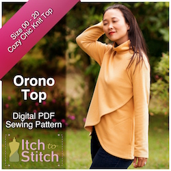Orono Top PDF Sewing Pattern