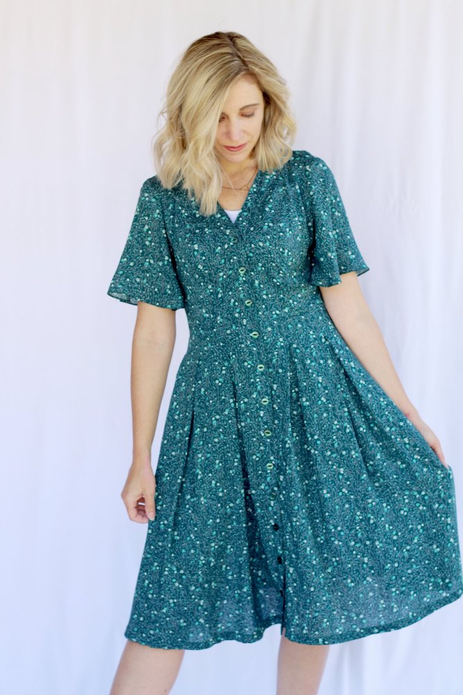 Itch to Stitch Kalispell Dress PDF Sewing Pattern