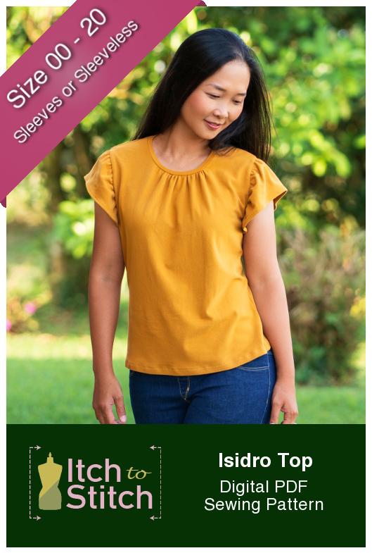Itch to Stitch Isidro Top PDF Sewing Pattern