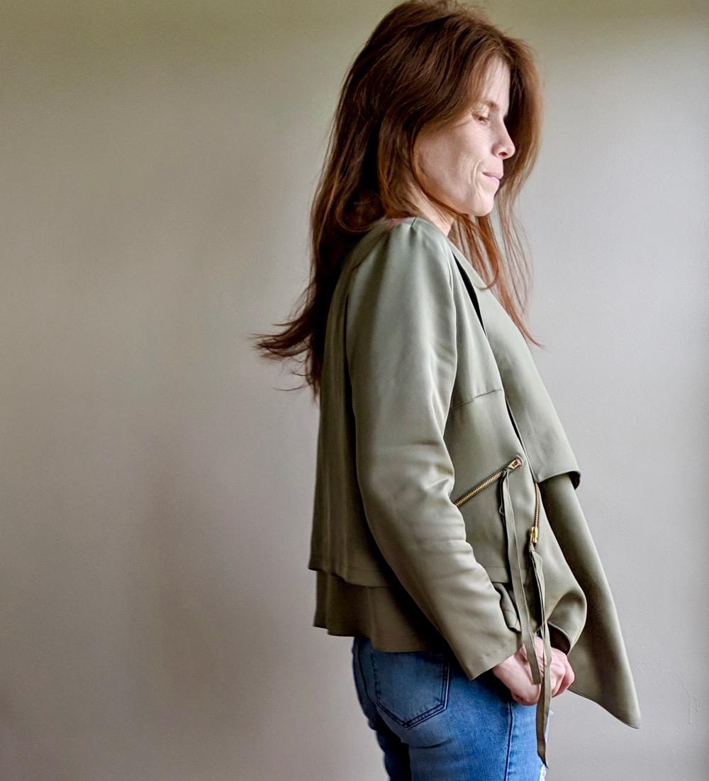 Itch to Stitch Make It Wear It Joni Hvar Jacket Side