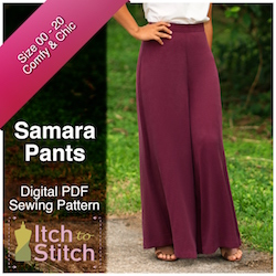 Samara Pants PDF Sewing Pattern