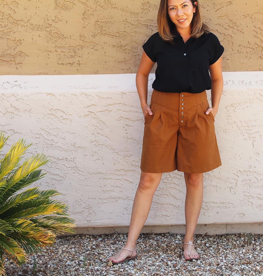 Itch to Stitch Gobi Culottes PDF Sewing Pattern