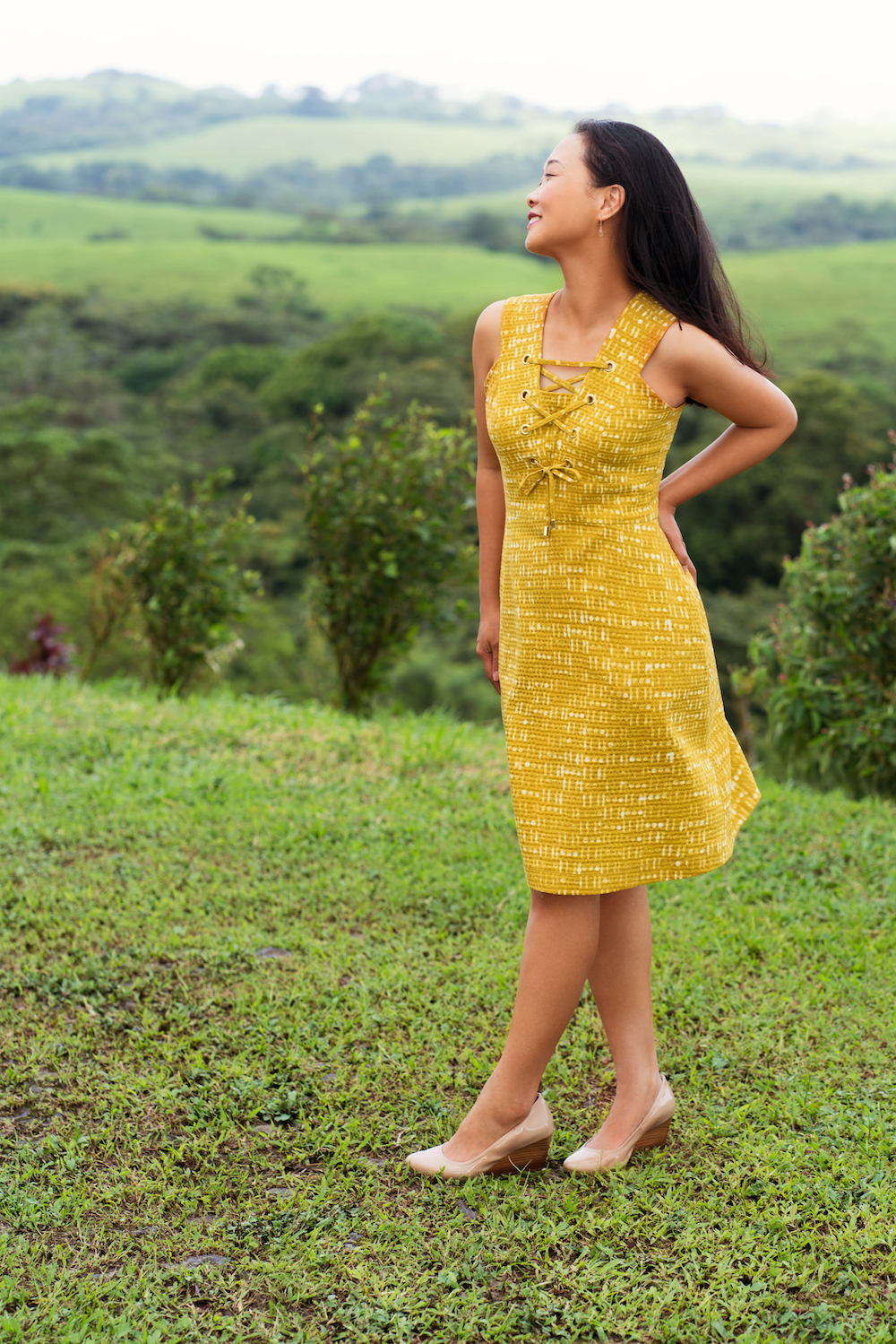Itch to Stitch Oia Dress PDF Sewing Pattern