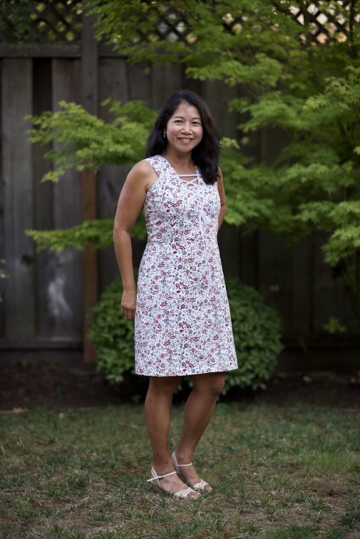 Itch to Stitch Oia Dress PDF Sewing Pattern
