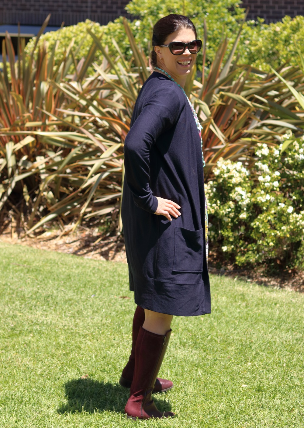Itch to Stitch Aveiro Cardigan by Kate Make It Wear It