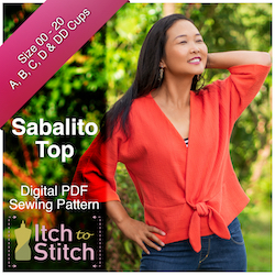 Sabalito Top PDF Sewing Pattern