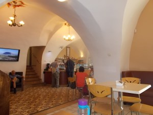 Christ Church cafe interior