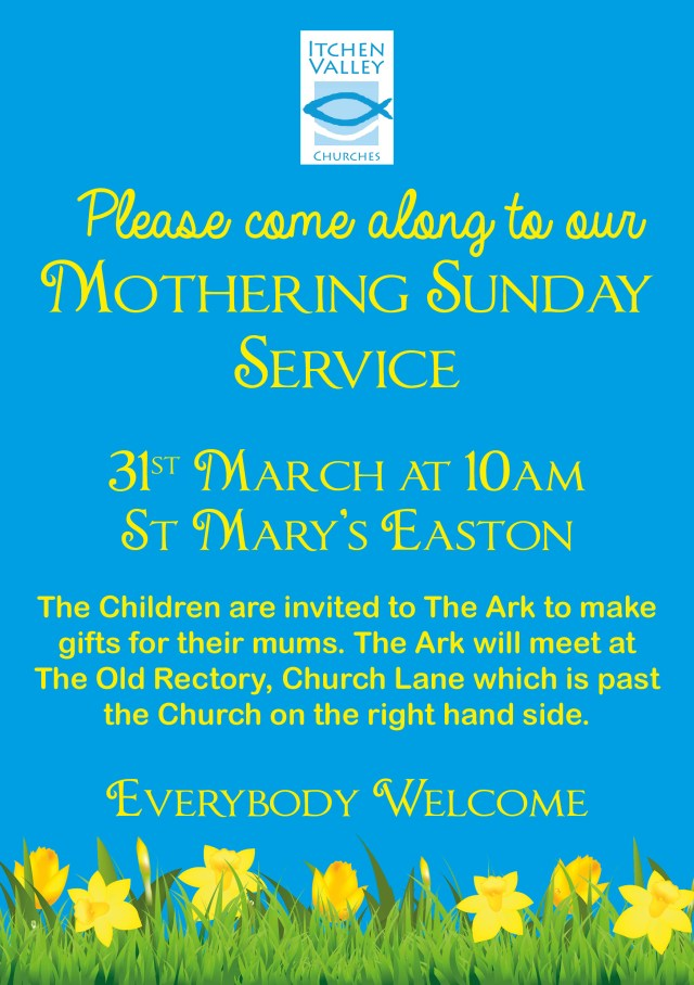 Mothering Sunday Flyer