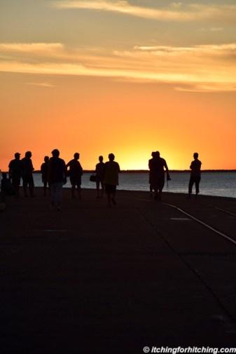 Derby Wharf Sunset