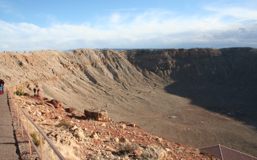 Arizona: Petrified Forest and Meteor Crater