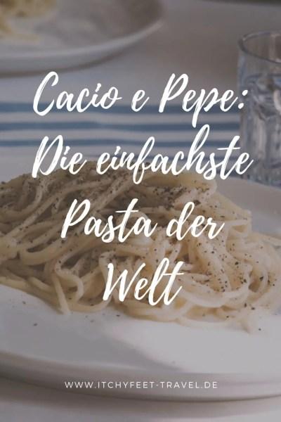 Cacio e Pepe -Die einfachste Pasta der Welt