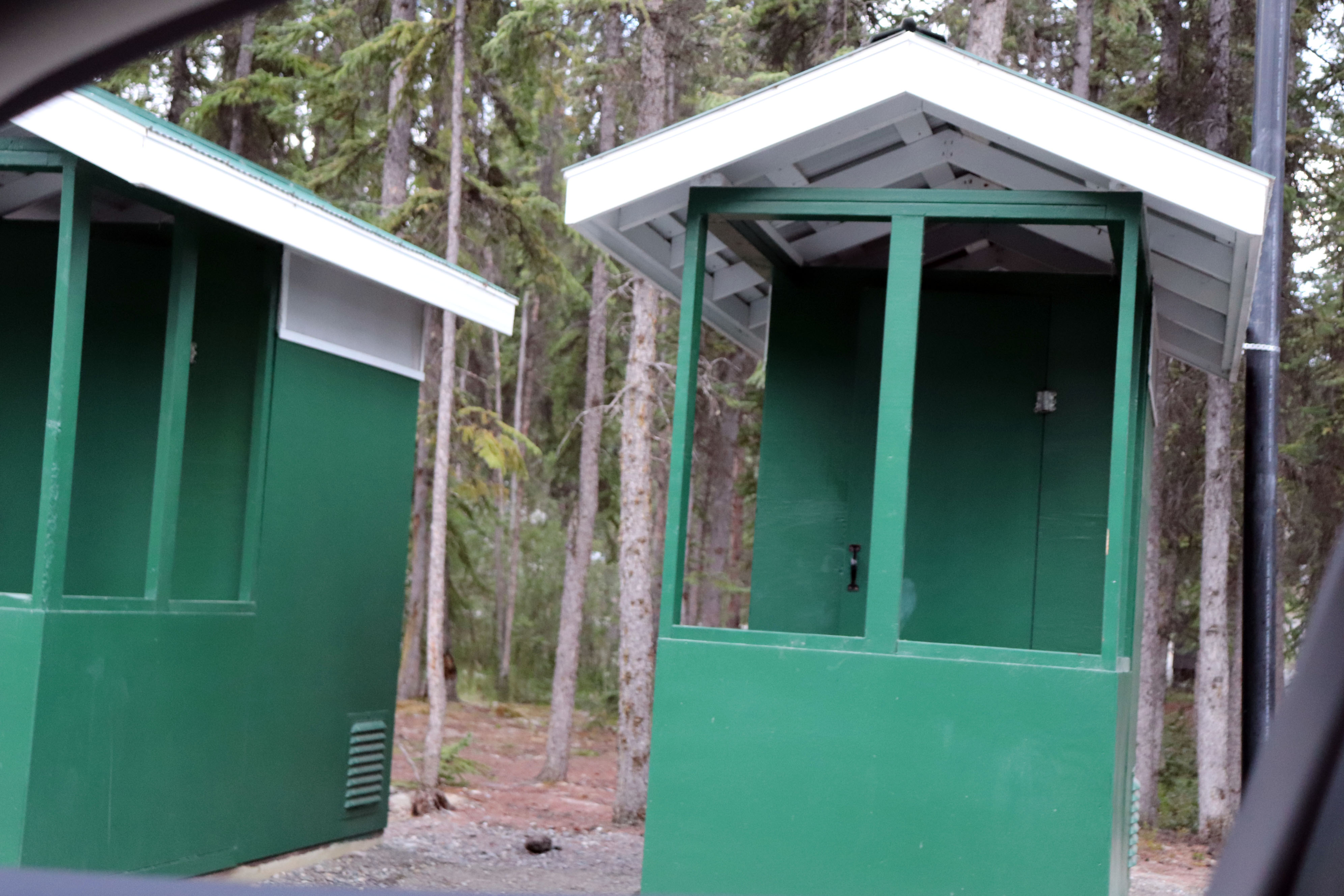 Canada Yukon Pine Lake Provincial Camp Ground And