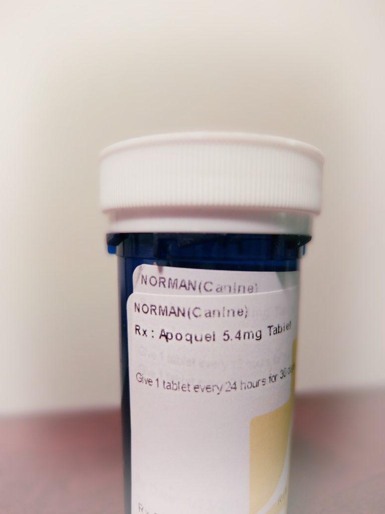 Apoquel Dose Chart : apoquel, chart, Medication, Apoquel, Dosage, Itchy, Frenchie