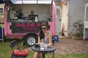 groovy pink van