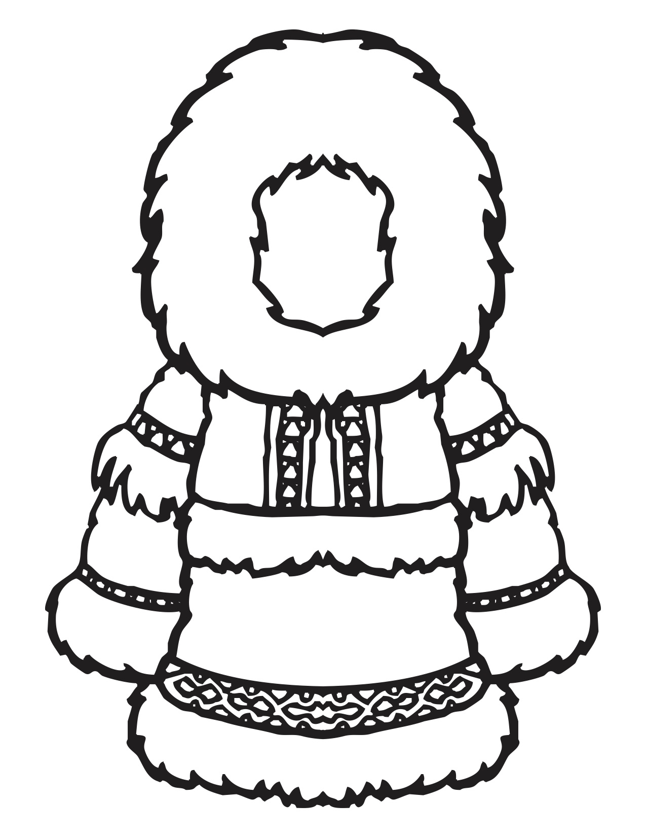 Trail Coloring Pages