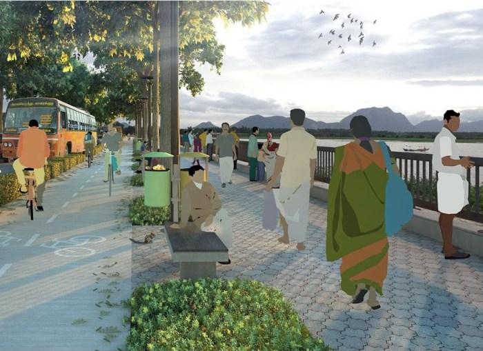 A network of greenways linking major lakes is proposed in Coimbatore, as part of the Smart Cities Mission