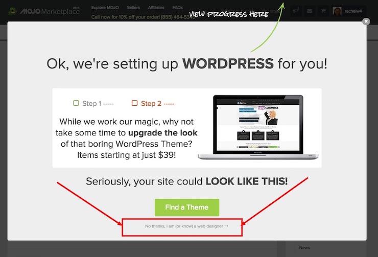 WordPress-install-sell-theme