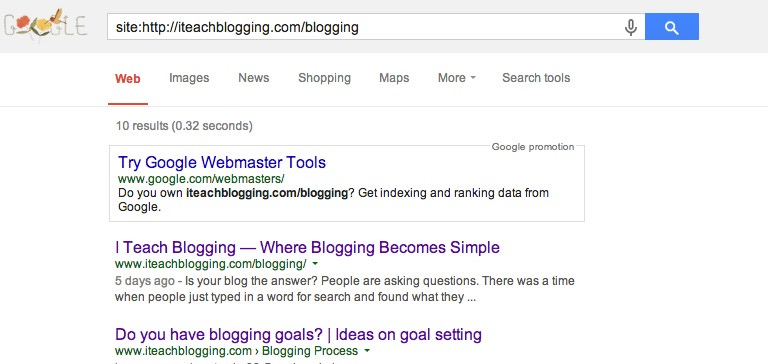 Is your site indexed on Google?