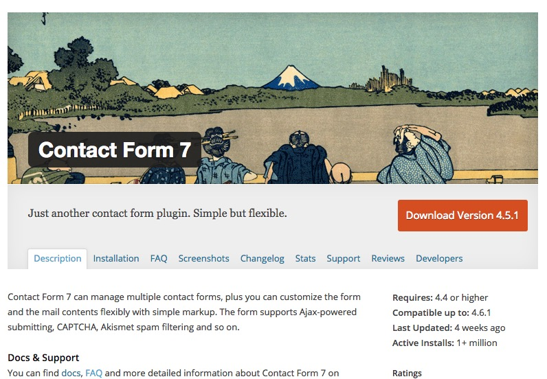 WordPress Contact Form 7