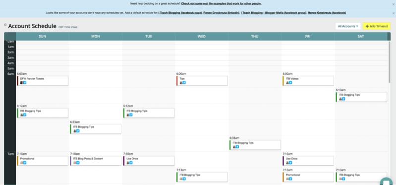 MeetEdgar is a browser-based social media scheduling tool.