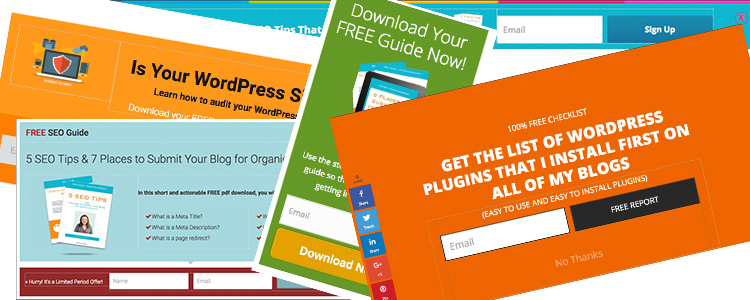 WordPress Opt-In Plugin Thrive Leads