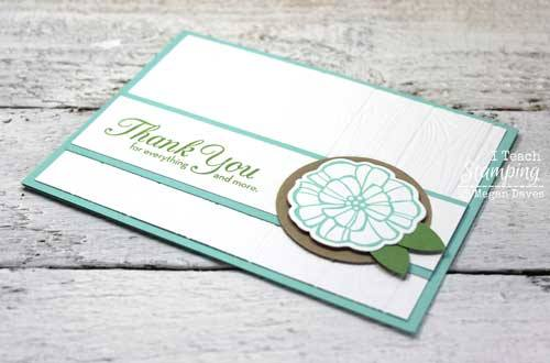 I LOVE My New Stampin Up Dynamic Embossing Folder I